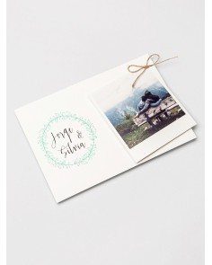 """Invito a nozze """"Polaroid"""""""