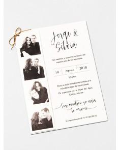 """Invito a nozze """"Cabina..."""