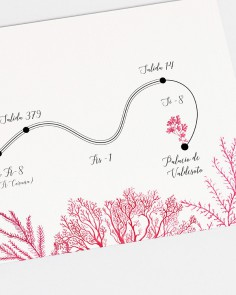 "Mappa ""Barriera corallina"""