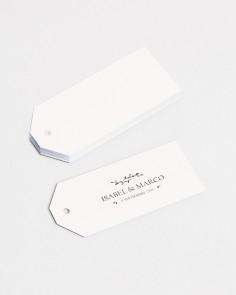 """Etichette """"Tessuto"""" (25 unità)"""
