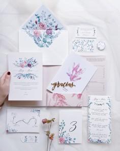 Campioni di inviti di nozze