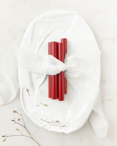 barras de lacre rojo rubí